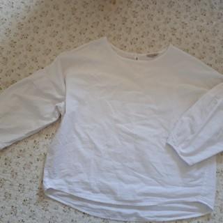サマンサモスモス(SM2)のカットソーブラウス(Tシャツ/カットソー(七分/長袖))