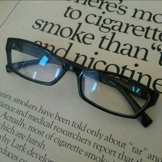 大人気☆つけま対応 pcメガネ ! レディースのファッション小物(サングラス/メガネ)の商品写真