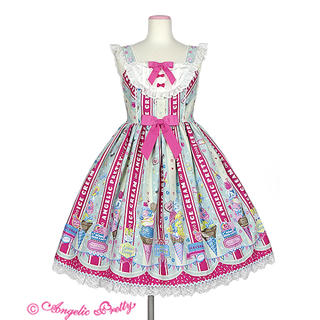 Angelic Pretty -  ♥Ice Cream Parlor SpecialジャンパースカートSet♥