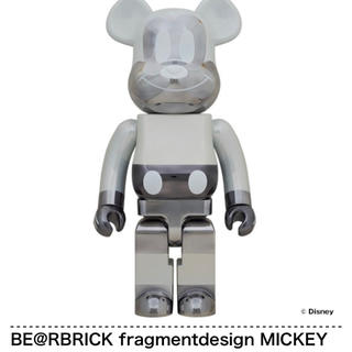 メディコムトイ(MEDICOM TOY)のBE@RBRICK fragment MICKEY  Ver.1000% (その他)