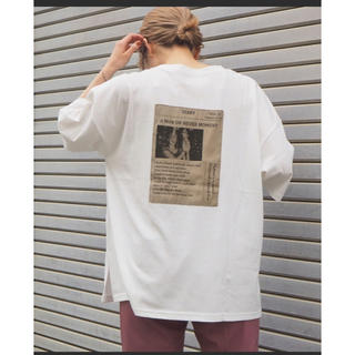 JOURNAL STANDARD - 2020SS 新品タグ付きフォトプリントBIGスリットTシャツ