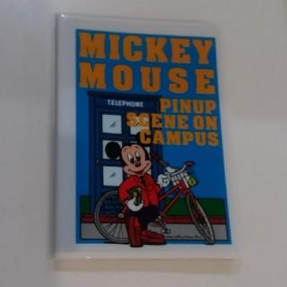 ミッキーマウス - 昭和レトロ☆ミッキーマウス 電話帳 ブルーカラー