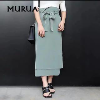 MURUA - MURUA 美品  最終値引き 完売品❁メローナロースカート
