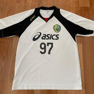 asics - 広島皆実サッカー練習着 Oサイズ