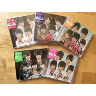 セクシー ゾーン(Sexy Zone)のSexyZone CD デビューシングル A.B.C.D.通常盤(男性アイドル)