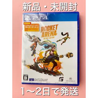 PlayStation4 - ロケットアリーナ ミシックエディション PS4ソフト 新品・未開封 初回特典付