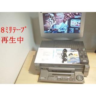 ソニー(SONY)のノイズ低減8ミリビデオS-VHSデッキWV-SW1送料無料144リモコン(その他)