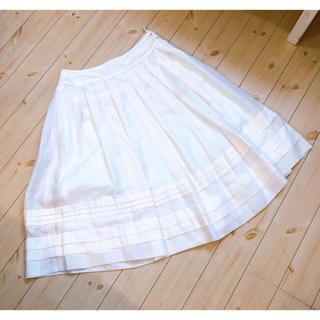 アルファキュービック(ALPHA CUBIC)のアルファキュービックフレアスカート(ひざ丈スカート)