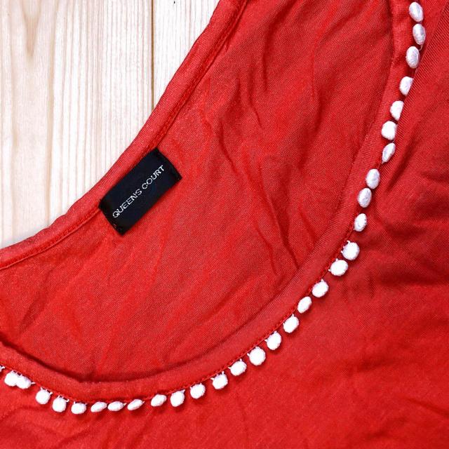 QUEENS COURT(クイーンズコート)のクイーンズコートトップス レディースのトップス(カットソー(半袖/袖なし))の商品写真