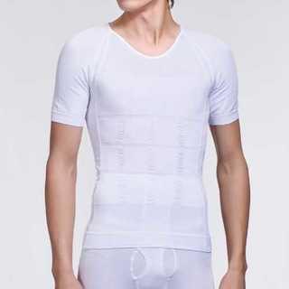 加圧シャツ インナー ホワイト メンズ 半袖 筋トレ アンダーウェア 運動 お腹(その他)