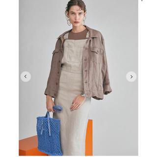 ミラオーウェン(Mila Owen)のジャケット&サロペスカートセット(Gジャン/デニムジャケット)