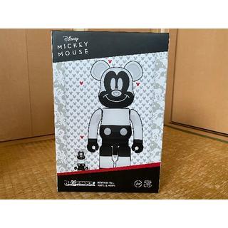メディコムトイ(MEDICOM TOY)のベアブリック fragment MICKEY MOUSE 100% 400% (ぬいぐるみ/人形)