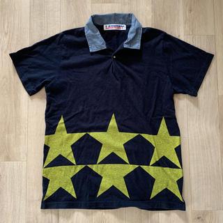 ランドリー(LAUNDRY)のLAUNDRY ランドリー ポロシャツ 紺 M(ポロシャツ)