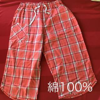シャルレ(シャルレ)のシャルテコ 綿100% ★新品、未使用品★レッド M☆値下げ❗️(ルームウェア)