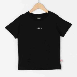 coen - 新品タグ付 coen(コーエン)チビロゴTシャツ