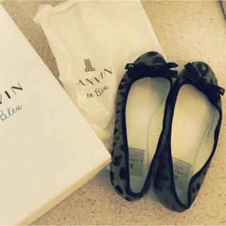 LANVIN en Bleu(ランバンオンブルー)のランバン バレエシューズ レディースの靴/