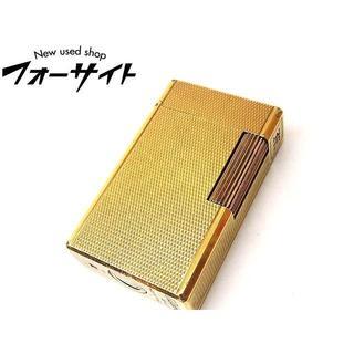 エステーデュポン(S.T. Dupont)のデュポン ライター ■ ライン1 ラージ ゴールドカラー(タバコグッズ)