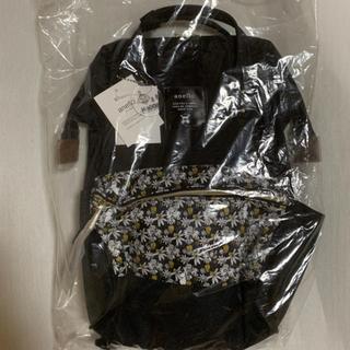 アネロ(anello)のムーミン リュック 新品 アネロ anello ブラック 黒(リュック/バックパック)