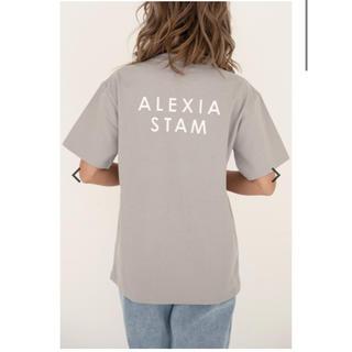 ALEXIA STAM - アリシアスタン ロゴT