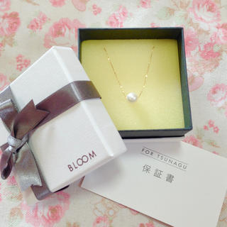 BLOOM - k18一粒アコヤパールネックレス♡