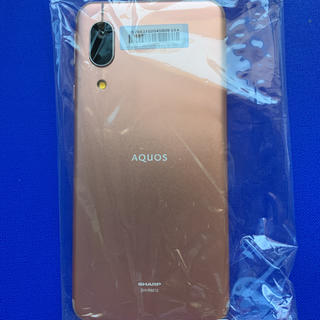 アクオス(AQUOS)のAQUOS sense3 lite ライトカッパー 64 GB SIMフリー(スマートフォン本体)
