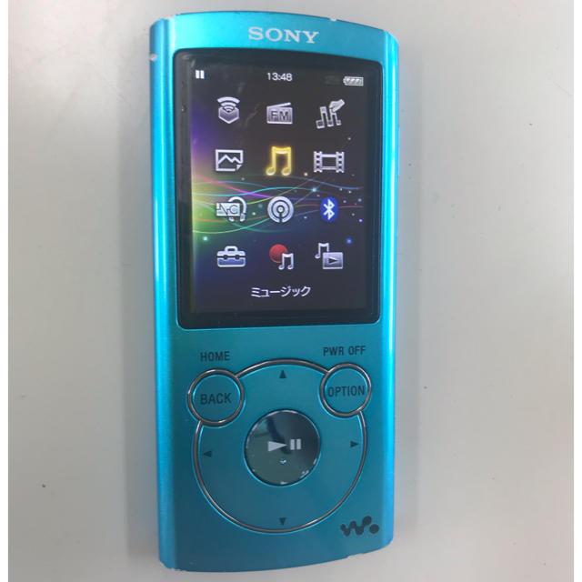 SONY(ソニー)のSONY Sシリーズ 8GB ブルー[NW-S764] スマホ/家電/カメラのオーディオ機器(ポータブルプレーヤー)の商品写真