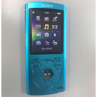 ソニー(SONY)のSONY Sシリーズ 8GB ブルー[NW-S764](ポータブルプレーヤー)