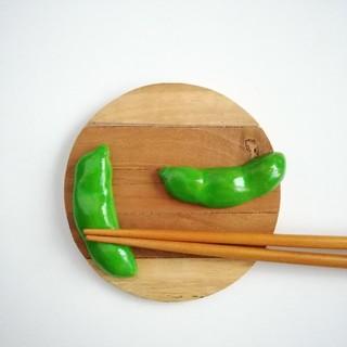 枝豆 箸置きセット(キッチン小物)