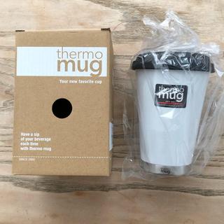 サーモマグ(thermo mug)の新品 サーモマグ thermo mug コーヒータンブラー  白 350ml (タンブラー)