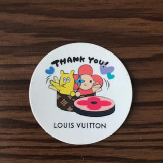 LOUIS VUITTON - LOUIS VUITTONの非売品のシール