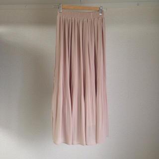 バイバイ(ByeBye)のロング プリーツ ベージュ スカート♡(ロングスカート)
