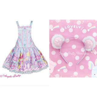 アンジェリックプリティー(Angelic Pretty)のAngelicPretty Toy Doll Box サロペットセット(サロペット/オーバーオール)