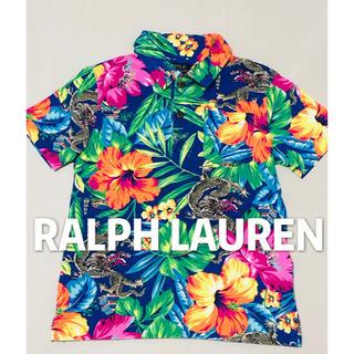 POLO RALPH LAUREN - ラルフローレン POLO アロハ 花柄 ポロシャツ 美品 110