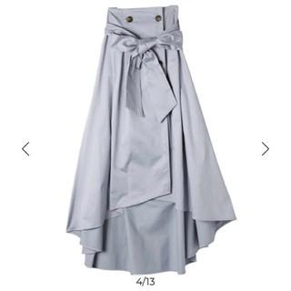 eimy istoire - eimy リボンスカート sax