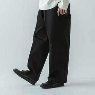 ラッドミュージシャン(LAD MUSICIAN)のルイス 高級チノワイドパンツ 20ss lad musician (スラックス)