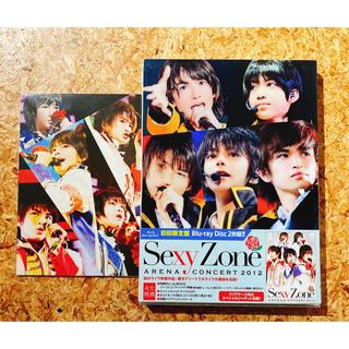 セクシー ゾーン(Sexy Zone)のSexy Zone ARENA CONCERT 2012 Blu-ray 初回(アイドル)