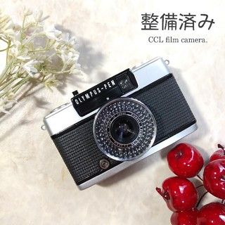 オリンパス(OLYMPUS)の【整備済み、マニュアル撮影OK、ABランク良品】OLYMPUS PEN EE-3(フィルムカメラ)