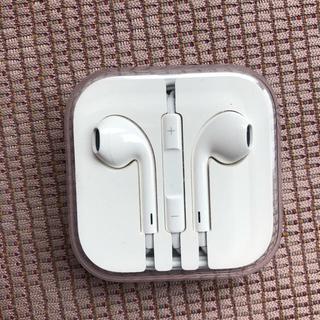 アイフォーン(iPhone)のiPhone 純正イヤホン 新品未使用(ヘッドフォン/イヤフォン)