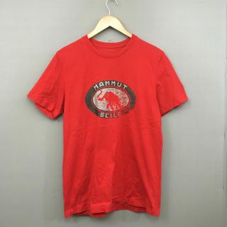 マムート(Mammut)のマムート MAMMUT アウトドア Tシャツ 2XLサイズ レッド(Tシャツ/カットソー(半袖/袖なし))
