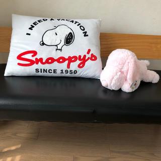 スヌーピー(SNOOPY)の新品 スヌーピー セット(枕)