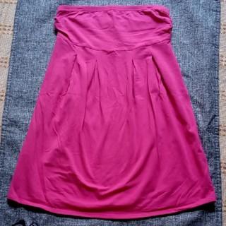 ユニクロ(UNIQLO)のユニクロ LadiesチューブトップTシャツ(ベアトップ/チューブトップ)