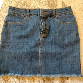 フォーエバートゥエンティーワン(FOREVER 21)のDenim skirt(ミニスカート)