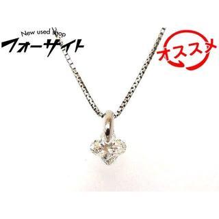 Pt900/850 ネックレス ■ ダイヤ 0.368ct(ネックレス)