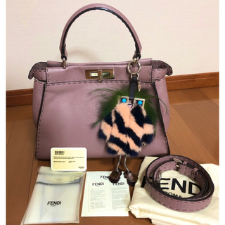 FENDI - 【連休限定お値段!】フェンディ  ピーカブー イングリッシュローズ レギュラー