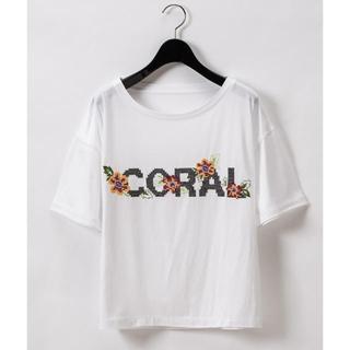 グレースコンチネンタル(GRACE CONTINENTAL)のクロスステッチロゴトップ グレースコンチネンタル2020SS(Tシャツ(半袖/袖なし))