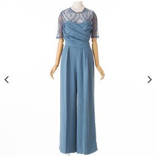 ラグナムーン(LagunaMoon)のLAGUNAMOON    クロスベアパンツドレス(その他ドレス)