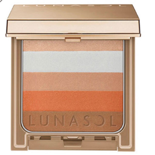 ルナソル(LUNASOL)のルナソル シックコンシャスブレンダー EX02 Orange Rib(10g)(チーク)