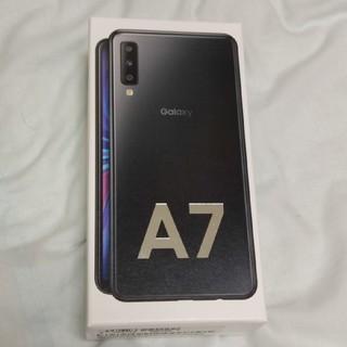 SAMSUNG - 【新古品】Galaxy A7ブラック
