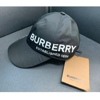 バーバリー(BURBERRY)の新品・未使用 BURBERRY ロゴキャップ ブラック(キャップ)