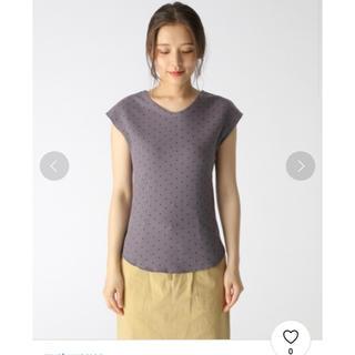 ミスティウーマン(mysty woman)のmysty woman!ドットワッフルTシャツ(Tシャツ(半袖/袖なし))